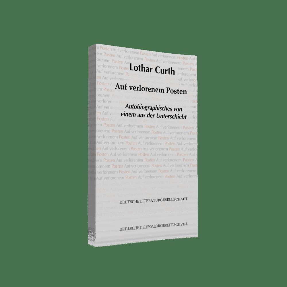 Deutsche Literaturgesellschaft Lothar Curth